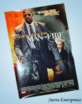Man On Fire Movie Poster Denzel Washington