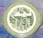 Royal Old Curiosity Shop Cake Plate