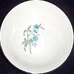 Sabin Blue Floral Serving Bowl
