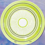 Taylor Smith Taylor Green Span Dinner Plate