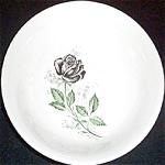 Sabin Black Rose Serving Bowl
