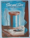 Vintage Easy Ways To Sew And Save