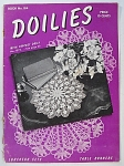 Vintage Doilies - Luncheon Sets And Table Runners - Book No. 184