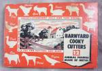 Vintage Kitchen - Barnyard Cookie Cutters - Original Illustrated Box - Complete