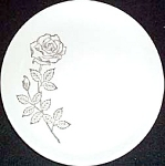 Scio Golden Rose Bread Plate