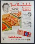 Swift's Premium Bacon Ad With Don Mcneill Patsy Lee Sam Cowling