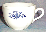 Hlc Sheffield Blue Dresden Demitasse Cup