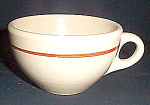 Shenango Incaware Brown Stripe Cup