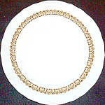 Shenango Gold Design Dinner Plate