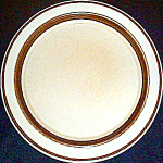 Shenango Tan / Brown Trim Dinner Plate
