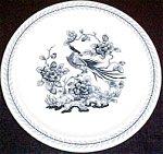 Shenango Exotic Bird Bread Plate