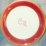 Sterling China Cr Logo Bread Plate