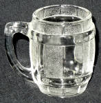 Federal Glass Clear Barrel Toothpick