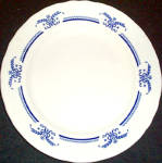 Shenango Blue Garland Dinner Plate