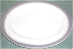 Shenango Gray Border Lunch Platter