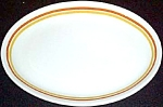 Shenango Orange / Gold Stripe Platter