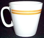 Shenango Orange / Gold Stripe Cup