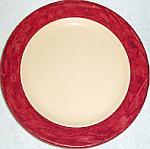 Shenango Incaware Maroon Border Plate