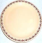 Shenango Incaware Red Rim Bread Plates