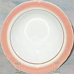 Shenango Pink Border Cereal Bowl