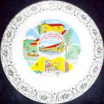 Mission San Fernando California Souvenir Plate