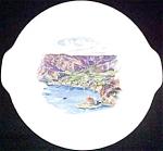 Catalina Island Souvenir Plate