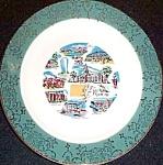 Wyoming Souvenir Plate
