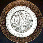 Kalama Washington Souvenir Plate