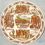 Carlsbad Caverns New Mexico Souvenir Plate