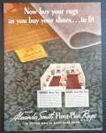 Alexander Smith Floor Plan Rug Ad