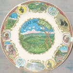 Smoky Mountains Souvenir Plate