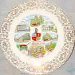 St. Augustine Florida Souvenir Plate