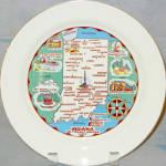 Indiana Souvenir Plate