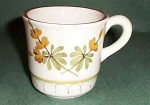 Stangl Golden Blossom Cup