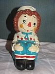 Raggedy Andy Ceramic/plaster Figure
