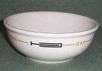 Sterling Cereal Bowl Black / Gold Band