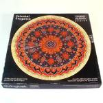 Oriental Elegance Round Tapestry Rug Springbok Jigsaw Puzzle