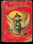 1910 'mother Goose Nursery Rhymes Children's Book