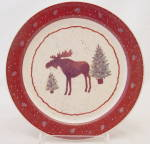 Cabin Creek By Papel Giftware Salad Plate (S) Moose