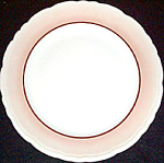 Caribe Tan Border Dinner Plate