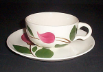 Stetson Rio Pink Floral Cup And Saucer