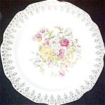 Stetson Floral Filigree Lunch Plate