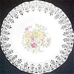 Stetson Floral Filigree Bread Plate