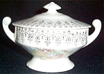 Stetson Floral Filigree Sugar Bowl