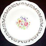 Stetson Floral Filigree Dinner Plate