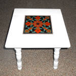 Vintage 1930's California Pottery Taylor Tile Top Table