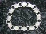 Vintage Sarah Coventry Silver Tone Bracelet--7 Inch