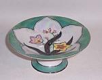 Noritake Deco Relief Floral Compote