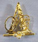 Avon 1993-1994 President's Club Tribute Pin Brooch Goldtone