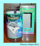 Burger King Pocahontas Disney Glass With Meeko